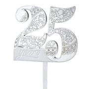 Lillian Rose 25th Anniversary Cake Pick