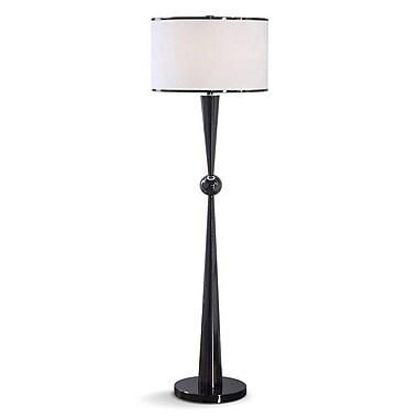 HomeTREND Dione 62'' Floor Lamp; Black Gunmetal