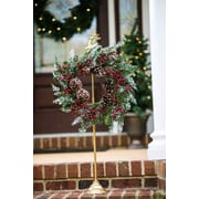 Charlton Home Reindeer Wreath Holder