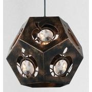 CrystalWorld Sasha 1-Light Geometric Pendant