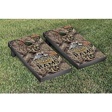 Victory Tailgate NCAA Mossy Oak Version Cornhole Game Set; Framingham State FSU Rams