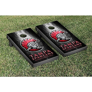 Victory Tailgate NCAA Metal Version Cornhole Game Set; University of Tampa Spartans