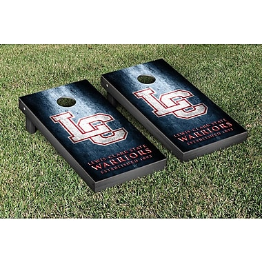 Victory Tailgate NAIA Metal Version Cornhole Game Set; Lewis Clark Warriors