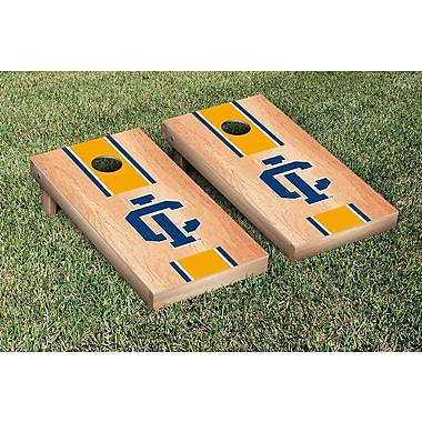Victory Tailgate NCAA Hardcourt Striped Version Cornhole Game Set; Ithaca IC Bombers