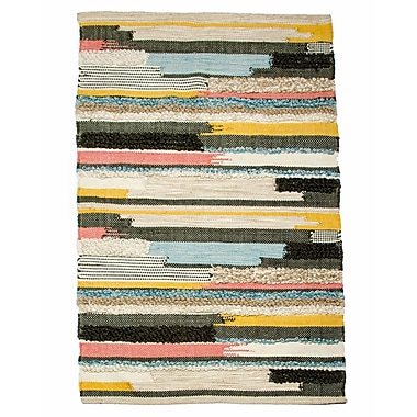 CLM Earth Day Hand-Woven Multi Area Rug