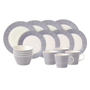 Royal Doulton Pacific 16 Piece Dinnerware Set, Service for 4