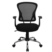 FamisCorp Mid-Back Mesh Desk Chair; Black