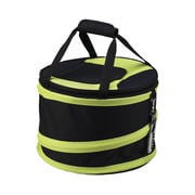 Picnic At Ascot 24 Can Compact Pop-Up Cooler; Black and Apple