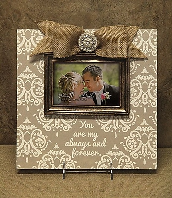 Carpentree Faith Tan Wedding Picture Frame