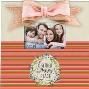 Carpentree Faith Together is Our Happy Place Picture Frame