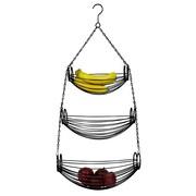 Home Basics 3-Tier Hanging Fruit Basket
