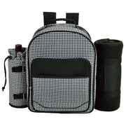 Picnic At Ascot Houndstooth Backpack Picnic Cooler