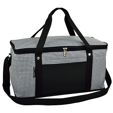 Picnic At Ascot 72 Can Houndstooth Large Trunk Cooler