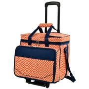 Picnic At Ascot 2 Bottle Diamond Tote Picnic Cooler
