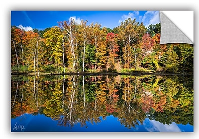 ArtWall Cody York Autumn Reflection Wall Decal; 12'' H x 18'' W x 0.1'' D