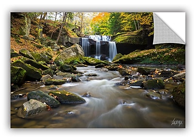 ArtWall Cody York Centerville Mill Falls Autumn Horizontal Wall Decal; 32'' H x 48'' W x 0.1'' D