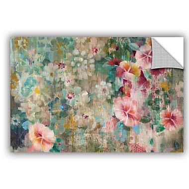 ArtWall Danhui Nai Flower Shower Crop Wall Decal; 12'' H x 18'' W x 0.1'' D