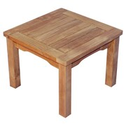 Regal Teak Mission Side Table