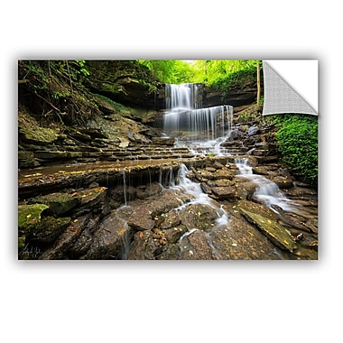 ArtWall Cody York West Milton Cascades Wall Decal; 16'' H x 24'' W x 0.1'' D