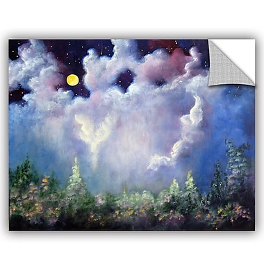 ArtWall Marina Petro Angel-Moon Wall Decal; 36'' H x 48'' W x 0.1'' D