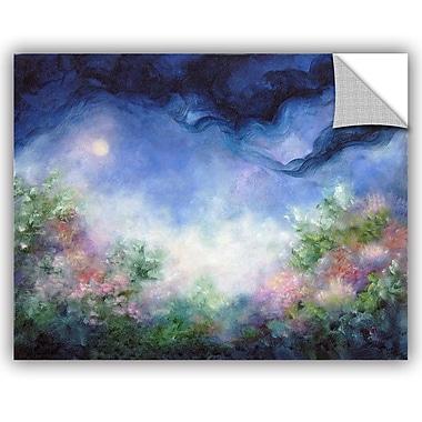 ArtWall Marian Petro Angel-Moon Garden Wall Decal; 18'' H x 24'' W x 0.1'' D