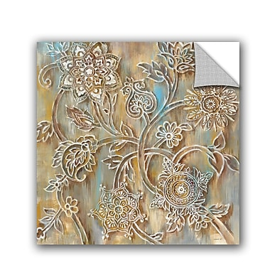 ArtWall Danhui Nai Henna Crop Wall Decal; 10'' H x 10'' W x 0.1'' D