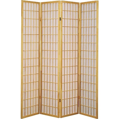 Major-Q 70'' x 72'' 4 Panel Room Divider; Nude