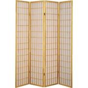 Major-Q 70'' x 72'' 4 Panel Room Divider; Nude