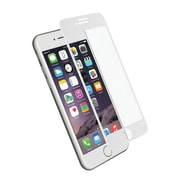 Cygnett RealCurve 9H Tempered Glass Screen Protector for iPhone 7 Plus, White White, Transparent
