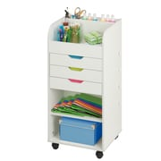Honey Can Do Craft Storage Cart with 3 Drawers (CRT-06345)