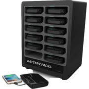 Brightworks Charging 12-Bay Portable Battery Dock (PS12)