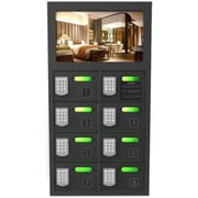 Brightworks Charging 8-Bay Charging Locker with Video Display (PL8V)
