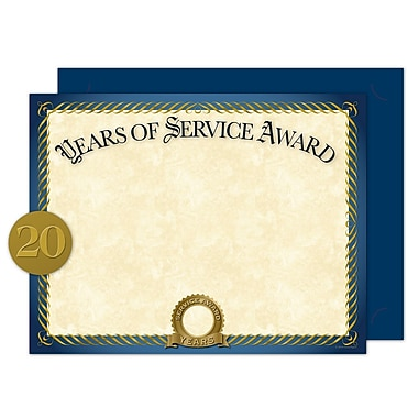 Great Papers® Years of Service Certificate Kit, 11