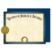 "Great Papers® Years of Service Certificate Kit, 11"" x 8.5"" (2015113KIT)"