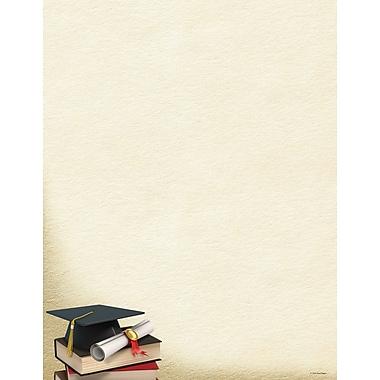 Great Papers® Grad Corner Letterhead, 8.5