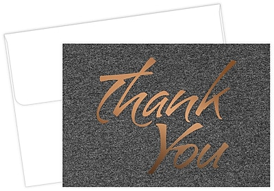 Great Papers® Suit Thank You Card, 4.875