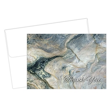 Great Papers® Marble Thank You Card, 4.875