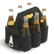 Picnic Plus by Spectrum 6 Can Neoprene Cooler Coozie; Black