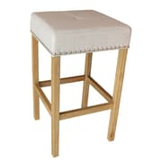 ALKBrands Alan's 30.25'' Bar Stool (Set of 2); Natural