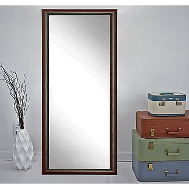 American Value New Interior Traditions Wall Mirror; 65'' H x 31'' W x 0.75'' D