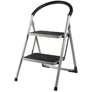 Home Basics Deluxe 2-Step Metal Step Stool