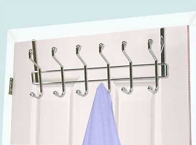 Home Basics 6 Hook Wall Mounted Coat Rack WYF078280127847