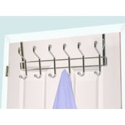 Home Basics 6 Hook Wall Mounted Coat Rack