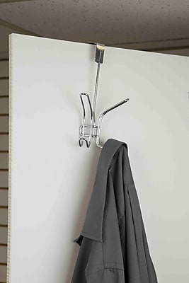 Home Basics Double Hook Wall Mounted Coat Rack WYF078280127852