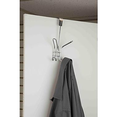 Home Basics Double Hook Wall Mounted Coat Rack