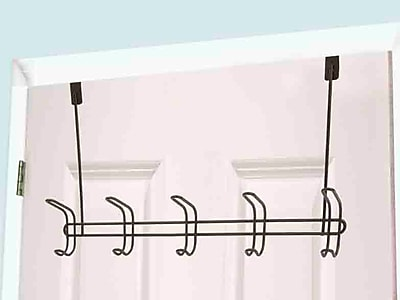 Home Basics 5 Hook Wall Mounted Coat Rack WYF078280127853