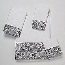 Avanti Linens Galaxy Hand Towel; White