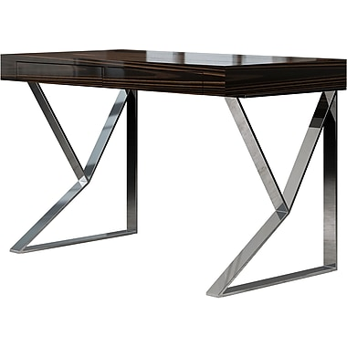 Modloft Writing Desk; Cathedral Ebony