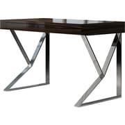 Modloft Writing Desk; Gray Oak