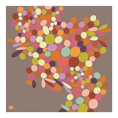 emma at home by Emma Gardner Cascade Graphic Art on Canvas in Walnut; 20'' H x 16'' W x 1'' D